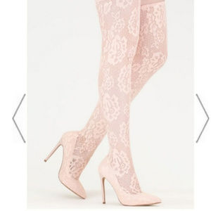 Shoes - Brand new thigh high lace fashion fitted heels